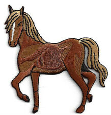 embroidered iron on applique-horse