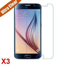 3Pcs Ultra Clear LCD Screen Protector Film Foil Saver For Samsung Galaxy S6