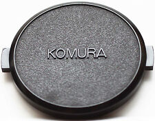 Original Komura Front Lens Cap 52mm 52 mm Snap-on
