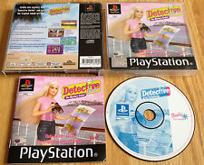 DETECTIVE BARBIE THE  MYSTERY CRUISE for SONY PS1, PS2 & PS3 COMPLETE