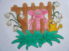 Imagen De Ventana Venta Pig Farm Animal Decoración Pegatina Calcomanía