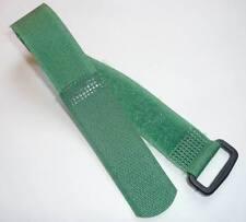 Ruban-crochet Collier De Serrage Crampon Pince Câble 25cm 250mm x 20mm VERT