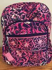 NEW VERA BRADLEY KATALINA PINK CAMPUS BACKPACK 12470 330 $109