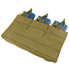 CONDOR Nylon Velcro Pouch Holds 3 x .223 Mag Insert for MOPC rig va6- COYOTE TAN