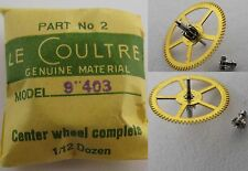 LeCoultre 403 new part center wheel & cannon pinion