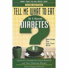 Tell Me What to Eat If I Have Diabetes (Nutrition You Can Live With)-ExLibrary