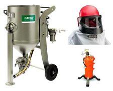 clemco Strahlkessel/Druckstrahlkessel SCW-2040 100l mit Arbeitsschutz