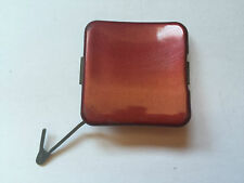PEUGEOT 206 ESTATE REAR BUMPER TOWING HOOK EYE COVER CAP MAROON (R22)