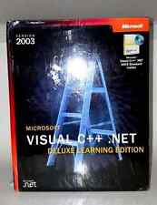 NEW Microsoft Visual C++.NET Deluxe Learning Edition Version 2003 and Software