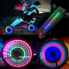 Colourful Rainbow Car Motorcycle Bike Wheel Tire Spoke 32 LED Light Valve Lamp
