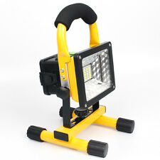 IPX6 Portable 30W LED Flood Light Outdoor Rechargeable Spotlight Lamp Camping US
