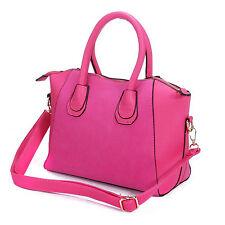 Vincenza Designer Large Womens Leather & Suede Style Tote Shoulder Bag Handbag