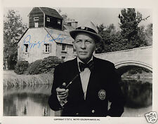 BING CROSBY AUTOGRAPH SIGNED PP PHOTO POSTER