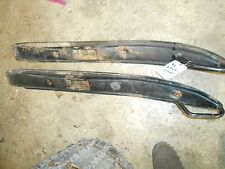 1991 skidoo XTCE formula plus: PAIR of SKINNY SKIS