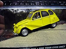 CITROEN 2CV 2 CV Ente 2CV6 James Bond 007 For your Eyes only IXO Altaya SP 1:43