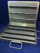 NEW X MEDIN TOOL AND INSTRUMENT STERILIZATION CASE TRAY STAINLESS 13.5x10.5x1.5""