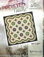 Quilt Pattern ~ FROSTED THISTLE ~ Judy Niemeyer - Foundation Paper Piecing