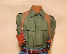 Triple K Leather Shoulder Holster GLOCK 17, 19, 22, 23, 26 or 27 3 PC SET