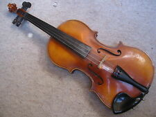 Nice old Violin violon Stradivarius made in Czechoslovakia by Cremona Luby 1962
