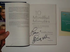 Goldie Hawn SIGNED AUTOGRAPHED 10 Mindful Mintues Paperback Book WITH PROOF