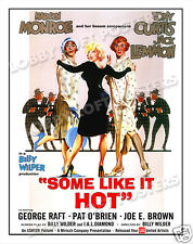 SOME LIKE IT HOT LOBBY CARD POSTER OS/IT 1959 MARILYN MONROE