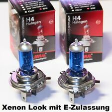 2 x LIMA H4 Xenon Look 24V 75/70W LKW Halogen Lampe super weiss Lichtfarbe OVP