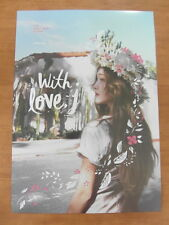 JESSICA - With Love, J [OFFICIAL] POSTER K-POP *NEW* SNSD
