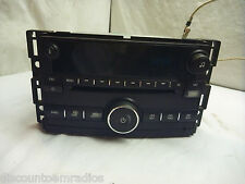 09 10 Chevrolet Cobalt Am Fm Radio Cd Player with Aux for Ipod 25834576 CA731