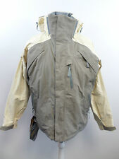 Bonfire Womens Sundown Snowboarding Jacket Beige Size L RRp £270 Box3424 G