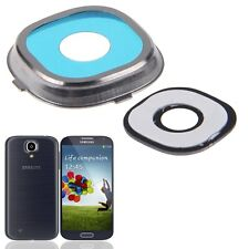 Rear Camera Lens Glass Cover Ring w/ Adhesive For Samsung Galaxy S IV S4 i9500