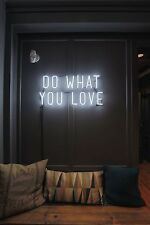 """New Do What You Love Wall Decor Neon Sign 14'x10"""" Ship From USA"""
