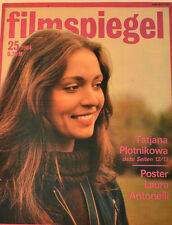 FILMSPIEGEL - 25/1984 - TATJANA PLOTNIKOWA - POSTER LAURA ANTONELLI  - FS28