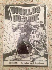 Worlds Collide no. 7 Miracleman UK Fanzine Alan Moore