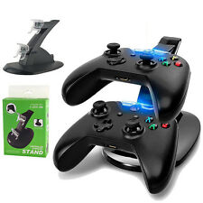Dual USB Charging Docking Station Controller Charging Stand For X-Box One New