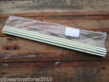 8x British Army 4 Man Arctic Tent SPARE POLES Fibreglass Sections Flexible NEW