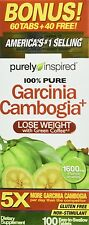 Purely Inspired Garcinia Cambogia Plus Tablets 100 ea (Pack of 4)