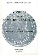 Arnaldo J. Cunietti - Ferrando MONEDAS DE LA REPUBLICA ARGENTINA adiciones