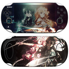 Skin Decal Sticker For PS Vita Original PCH-1000 Series Consoles SAO #10 + Gift