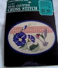Designs For The Needle Oriental Bird Hummingbird Counted Cross Stitch Kit 4017