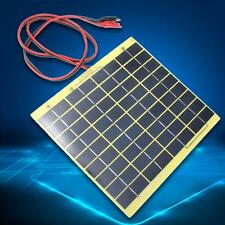 5Watt 12V Solar Cell Panel for Car Battery Trickle Charger Backpack Power DIY TL