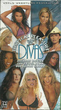 WWE WWF Divas Tropical Pleasure (VHS) Stacy Keibler, Trish Stratus, Lita - NEW
