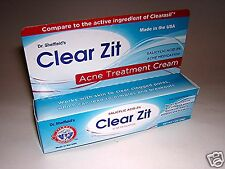 Dr Sheffield's Clear Zit Acne Treatment Cream 2% Salicylic Acid 1 Oz Tube