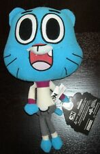 "STUFFED ANIMAL THE AMAZING WORLD OF GUMBALL 8"" WATERSON PLUSH DOLL"