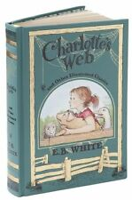 CHARLOTTE'S WEB and Illustrated Classics by EB White  ~ 2013 Sealed Leatherbound