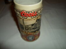 """Coors Brewery Stein  """"Site 1873"""" Excellent Condition 1988 Edition - #124100"""