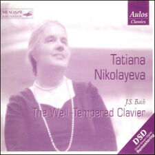 Tatiana Nikolayeva - Bach The Well-Tempered Clavier 4CD BRAND NEW SEALED