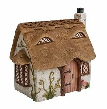 Vivid Arts Miniature World Fairy Pixie Garden House Thatched Country Cottage