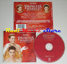 CD THE PRINCESS DIARES 2 2004  WALT DISNEY 5050467-5225-2-7 mc lp dvd