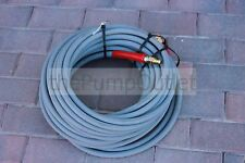 "100' Hot Water Pressure Washer Hose with Quick Connects 6000 PSI 3/8"" 2 Wire"