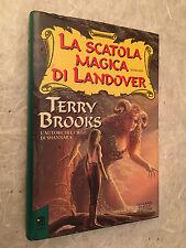 TERRY BROOKS LA SCATOLA MAGICA DI LANDOVER  MONDADORI 1° EDIZIONE 1994 VOL. 4